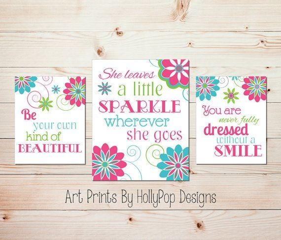 Best 25+ Teen Wall Art Ideas On Pinterest   Wall Art Prints Pertaining To Wall Art For Teenage Girl Bedrooms (Image 10 of 20)