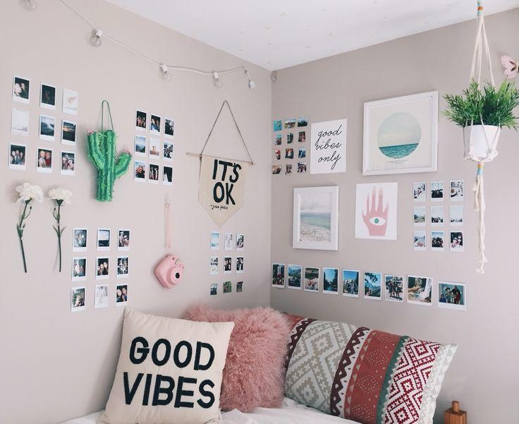 Best 25+ Teen Wall Decor Ideas On Pinterest | Girls Bedroom Ideas Within Wall Art For Teenage Girl Bedrooms (View 3 of 20)