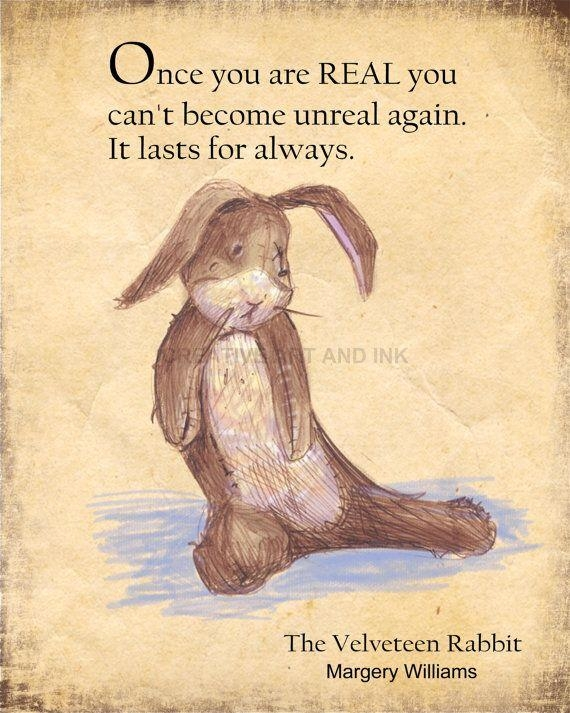 Best 25+ The Velveteen Rabbit Ideas On Pinterest | Quotes About With Regard To Velveteen Rabbit Wall Art (Image 4 of 20)