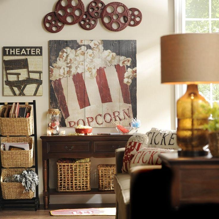 Best 25+ Theater Room Decor Ideas On Pinterest | Media Room Decor For Movie Themed Wall Art (Image 9 of 20)