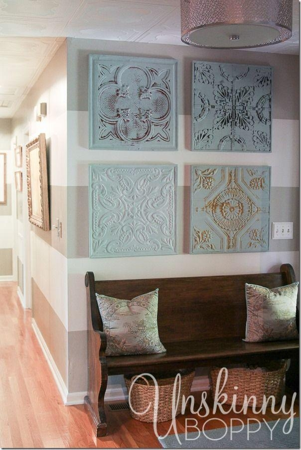 Best 25+ Tin Tiles Ideas On Pinterest | Cheap Wall Tiles Throughout Medallion Tiles Wall Art (Image 4 of 20)