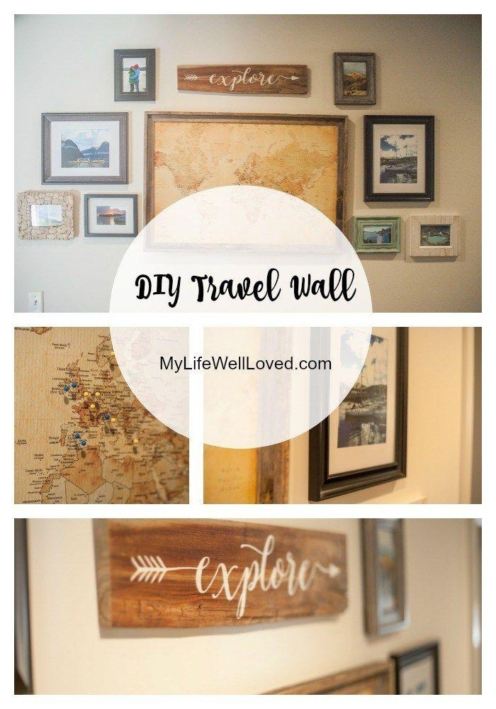 Best 25+ Travel Wall Ideas On Pinterest | Travel Crafts, Souvenir For Italian Travel Wall Art (Image 12 of 20)