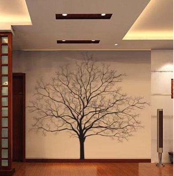 Best 25+ Tree Wall Art Ideas On Pinterest | Tree Branch Art In Oak Tree Vinyl Wall Art (Image 12 of 20)