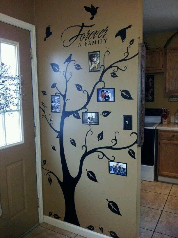 Best 25+ Tree Wall Art Ideas On Pinterest | Tree Branch Art With Oak Tree Vinyl Wall Art (Image 13 of 20)