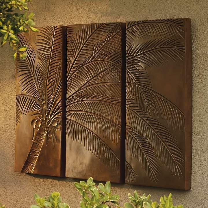 Best 25+ Tropical Outdoor Wall Art Ideas On Pinterest | Yard House With Palm Tree Metal Wall Art (View 5 of 20)