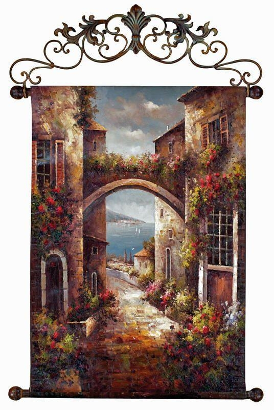 Best 25+ Tuscan Wall Decor Ideas On Pinterest | Mediterranean For Italian Villa Wall Art (Image 11 of 20)