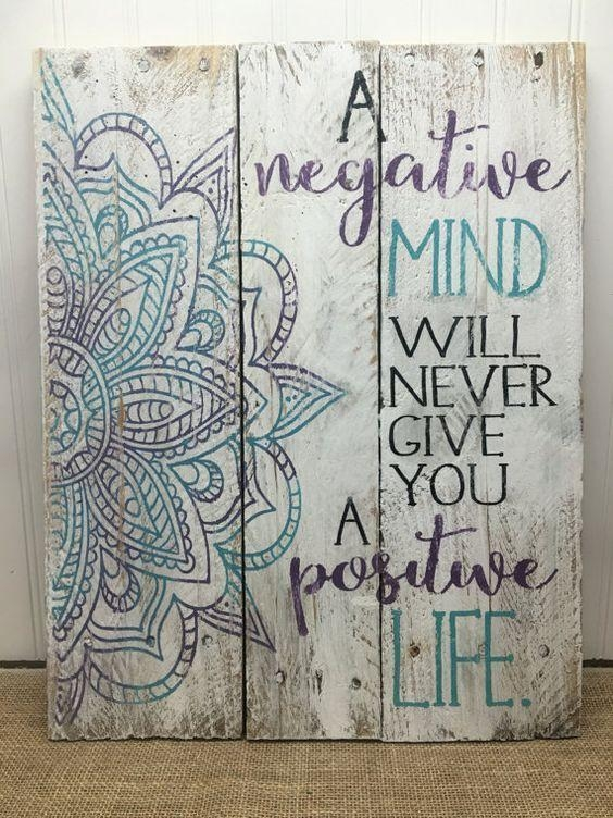 Best 25+ Wall Decor Quotes Ideas On Pinterest | Bedroom Signs Intended For Wooden Wall Art Quotes (Image 6 of 20)