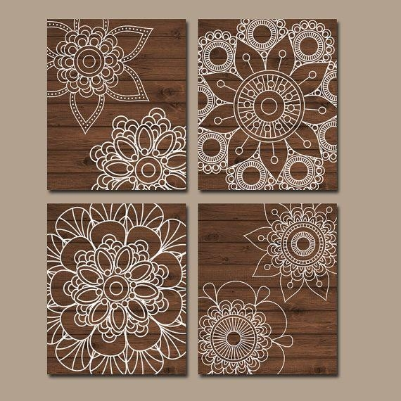 Best 25+ Wall Mandala Ideas On Pinterest | Mandalas En Paredes For Pattern Wall Art (Image 12 of 20)