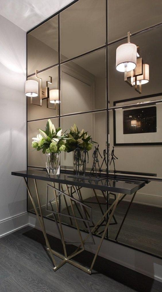 Best 25+ Wall Mirror Ideas Ideas On Pinterest | Dining Room Wall For Modern Mirrored Wall Art (View 17 of 20)