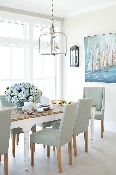 Best 25+ White Dining Chairs Ideas On Pinterest | Beach Style With Current White Dining Chairs (Image 4 of 20)