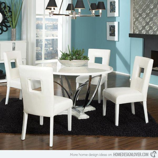 Best 25+ White Dining Set Ideas On Pinterest | White Kitchen Table Throughout White Dining Sets (Image 6 of 20)