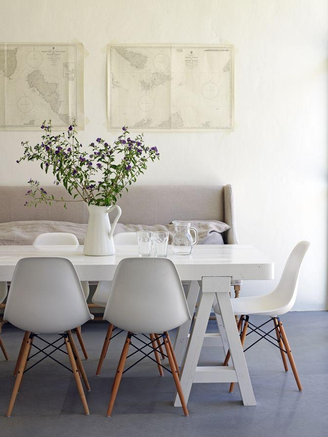 Best 25+ White Dining Table Ideas On Pinterest | White Dining Room With Regard To 2017 White Dining Tables (View 3 of 20)