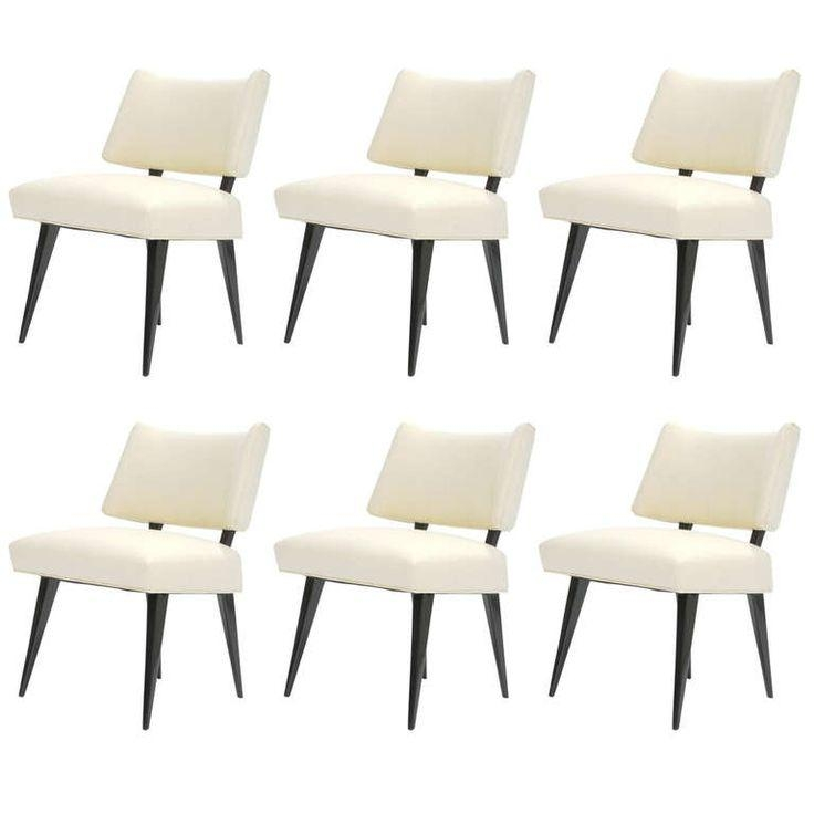 Best 25+ White Leather Dining Chairs Ideas On Pinterest | Leather Intended For Most Recently Released White Leather Dining Room Chairs (View 9 of 20)