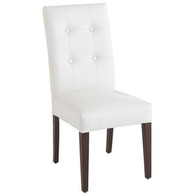 Best 25+ White Leather Dining Chairs Ideas On Pinterest | Leather Within White Leather Dining Chairs (Image 6 of 20)