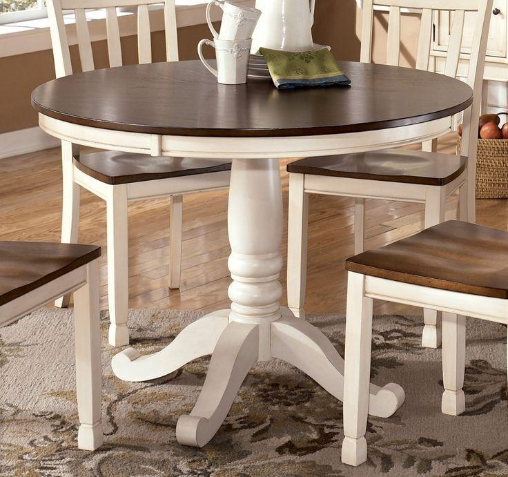 Best 25+ White Round Tables Ideas On Pinterest | Round Kitchen Intended For 2017 Next White Dining Tables (View 20 of 20)