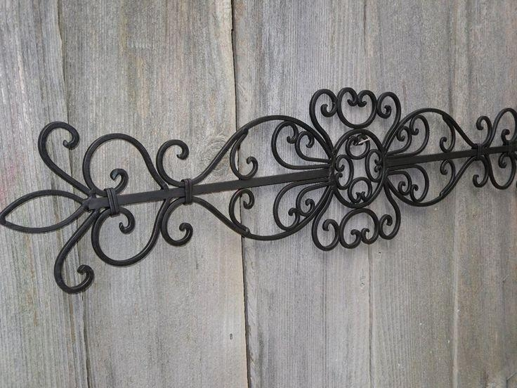 Best 25+ Wrought Iron Wall Art Ideas On Pinterest | Iron Wall Art Pertaining To Iron Scroll Wall Art (View 14 of 20)