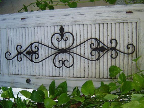 Best 25+ Wrought Iron Wall Art Ideas On Pinterest | Iron Wall Art With Outdoor Wrought Iron Wall Art (Image 8 of 20)