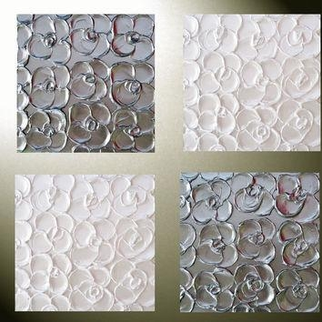 Best Abstract Metal Wall Art Products On Wanelo In Silver Metal Wall Art Flowers (View 4 of 20)