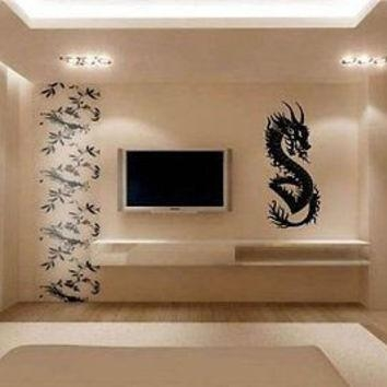 Best Asian Dragon Art Products On Wanelo With Regard To Asian Themed Wall Art (Image 13 of 20)