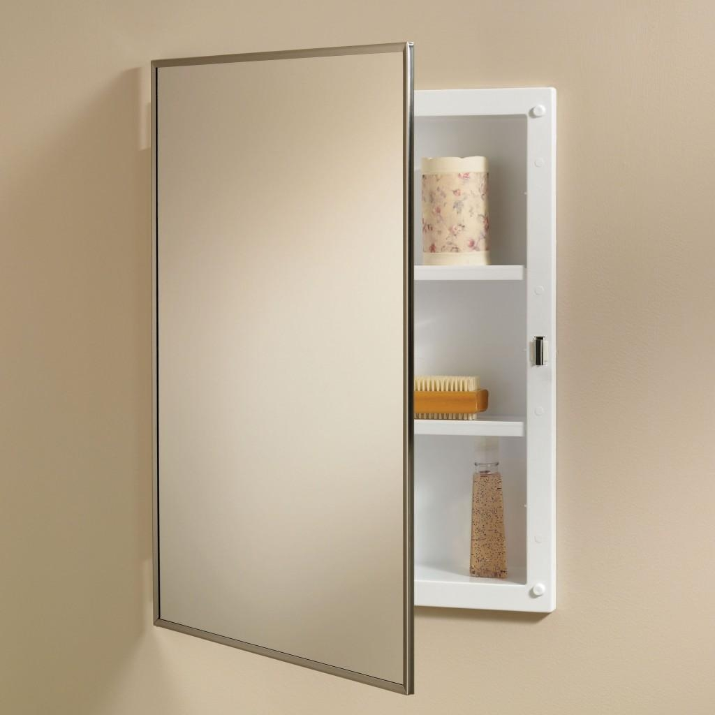 Best Bathroom Medicine Cabinets : How To Hang Bathroom Medicine Inside Bathroom Medicine Cabinets With Mirrors (Image 10 of 20)