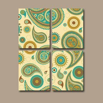 Best Brown And Tan Wall Art Products On Wanelo Within Brown And Turquoise Wall Art (Image 6 of 20)