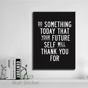 Best Canvas Wall Art With Inspirational Quotes Products On Wanelo With Regard To Inspirational Quotes Canvas Wall Art (Image 8 of 20)