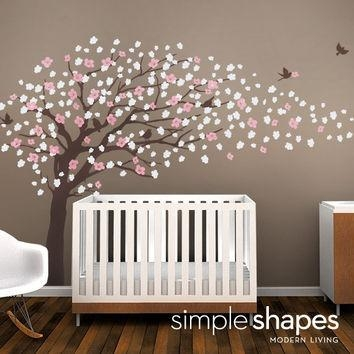 Best Cherry Blossom Vinyl Wall Decal Products On Wanelo For Cherry Blossom Vinyl Wall Art (Image 6 of 20)
