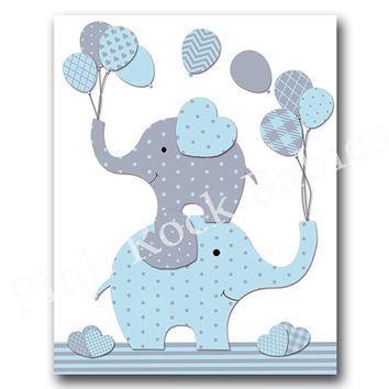 Best Elephant Nursery Wall Decor Products On Wanelo Pertaining To Elephant Wall Art For Nursery (View 15 of 20)