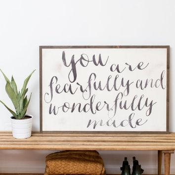 Best Fearfully And Wonderfully Made Products On Wanelo For Fearfully And Wonderfully Made Wall Art (Image 8 of 20)