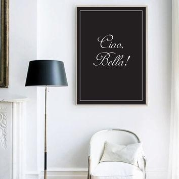 Best Italian Wall Decor Products On Wanelo For Italian Wall Art Quotes (Image 13 of 20)