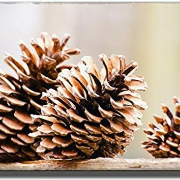 Best Pine Cone Art Products On Wanelo Regarding Pine Cone Wall Art (Image 4 of 20)