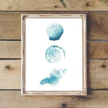 Best Sea Shells Wall Art Products On Wanelo Regarding Seashell Prints Wall Art (View 8 of 20)