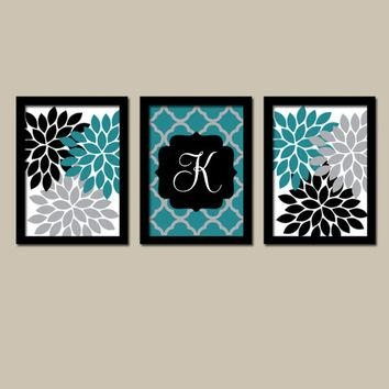 Best Teal Bathroom Wall Art Products On Wanelo Throughout Black And Teal Wall Art (Image 11 of 20)
