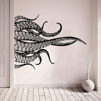 Best Tentacle Wall Art Products On Wanelo Pertaining To Octopus Tentacle Wall Art (Image 4 of 20)