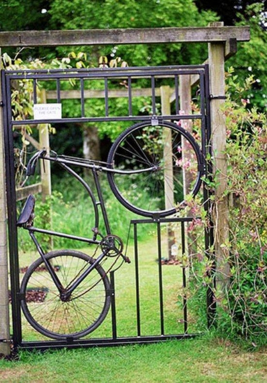 Bicycle Art • Nifty Homestead Throughout Metal Bicycle Art (Image 5 of 20)