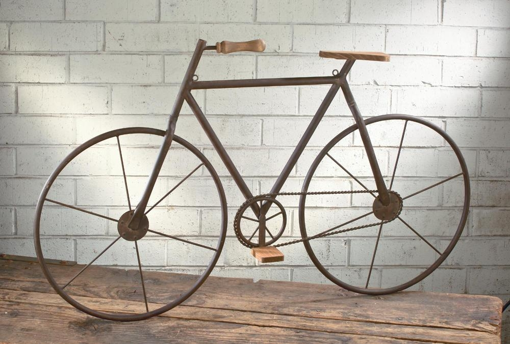 Bicycle Wall Art – Tripar International, Inc (Image 8 of 20)