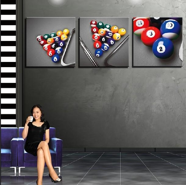 Billiard Wall Art – Wall Murals Ideas Within Billiard Wall Art (Image 4 of 20)