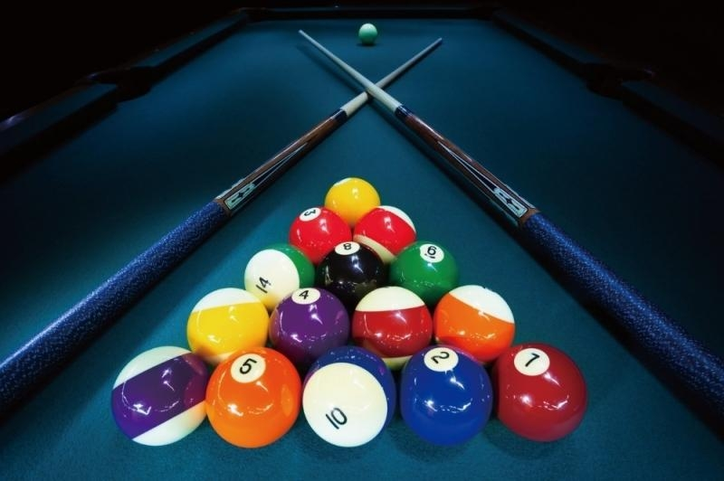 Billiard Wall Decor Tommervik Abstract Cubism Pool Table Art Within Billiard Wall Art (Image 6 of 20)
