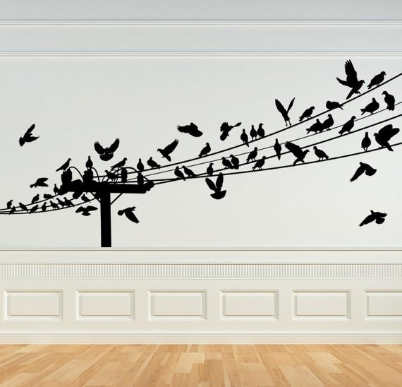Featured Image of Birds On A Wire Wall Art