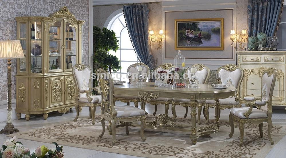 Bisini Dining Table,italian Luxury Dining Table,antique European Intended For Newest Italian Dining Tables (Image 2 of 20)