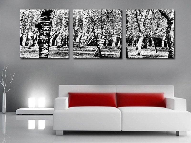 Black And White Canvas Wall Art Intended For Property | Earthgrow In Red And Black Canvas Wall Art (View 11 of 20)