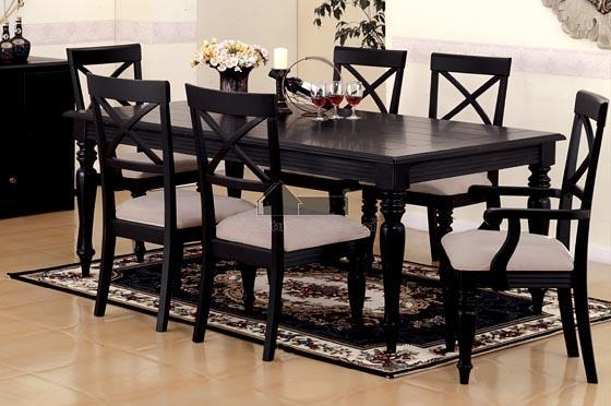 Black Dining Room Tables – Coredesign Interiors Throughout Recent Black Dining Tables (Image 5 of 20)