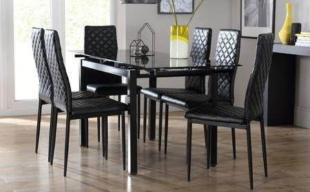 Black Dining Table For Your Kitchen – Tcg For 2018 Dining Tables Black Glass (Image 4 of 20)