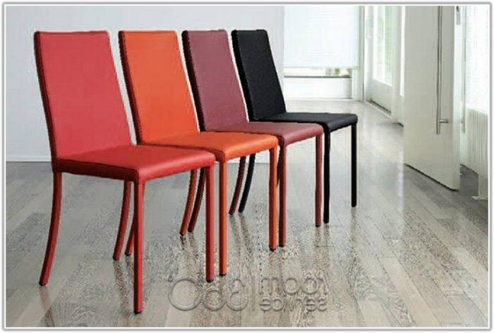 Black Leather Italian Dining Chairs – Chair : Home Furniture Ideas For Red Leather Dining Chairs (Image 4 of 20)