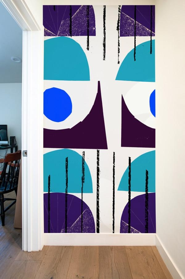 Blik Launches Oversized Graphic Wall Panels – Design Milk Intended For Blik Wall Art (Image 7 of 20)