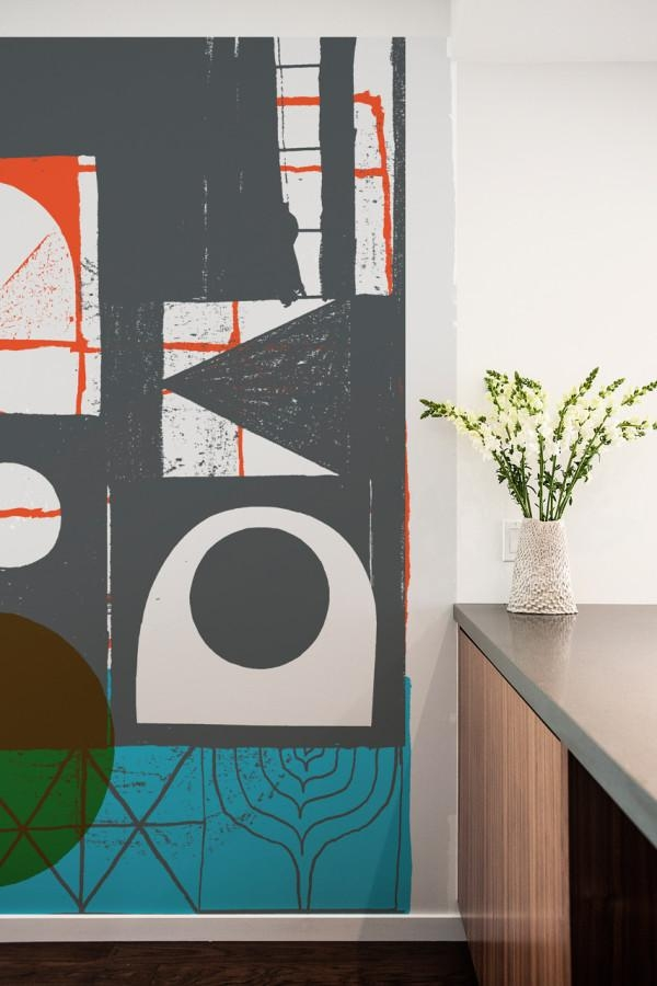 Blik Launches Oversized Graphic Wall Panels – Design Milk Regarding Blik Wall Art (Image 8 of 20)