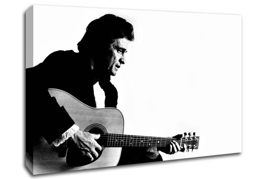 Blog Music Johnny Cash Canvas Art Prints With Regard To Johnny Cash Wall Art (Image 3 of 20)