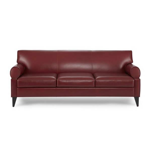 Bloombety : Awesome Bloomingdales Sofas With Dark Red Color Design Intended For Bloomingdales Sofas (Image 6 of 20)