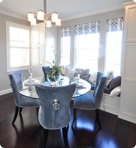 Blue Velvet Dining Room Chairs | Dining Chairs Design Ideas Pertaining To Velvet Dining Chairs (Image 6 of 20)