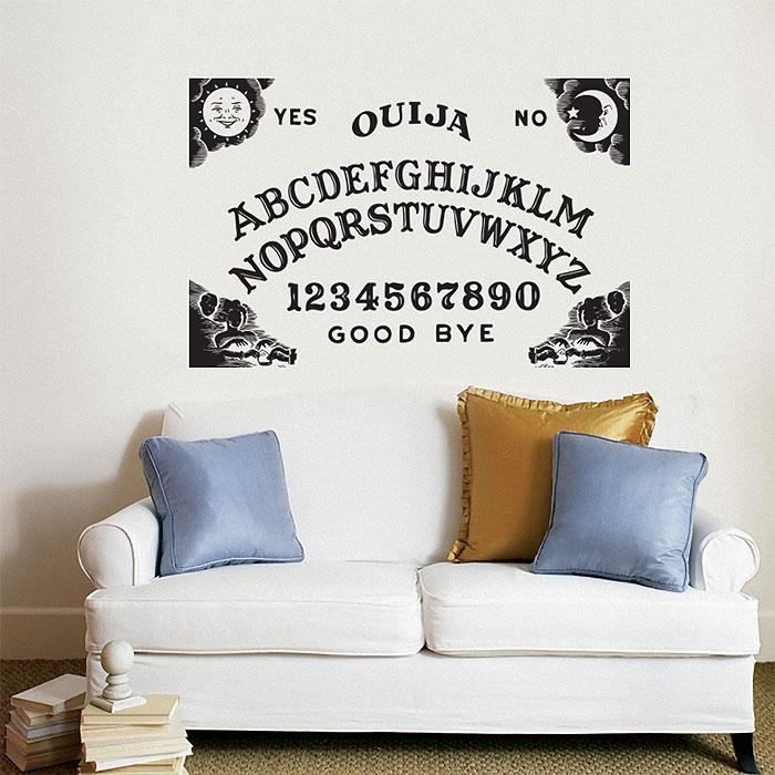 Board Vinyl Wall Art Decal Within Ouija Board Wall Art (Image 6 of 20)